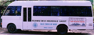 Activities of Blue Cross of India: Ambulance Service