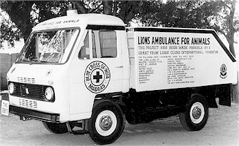 Activities of Blue Cross of India: Operating Ambulance gifted by Lions Club